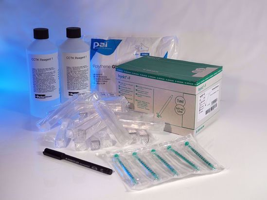 Consumables pack for the Cold Corrosion Test providing supplies for an additional 100 tests.